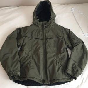 Green COLUMBIA Ski Coat